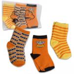 Tiny Tillia Halloween Socks 3-pack - 2T-4T