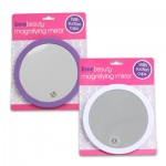 Magnifying Mirror with Suction Cup - Asst  5.5