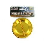 Sandbag ashtray