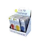 Fish Bone Car Air Freshener Display