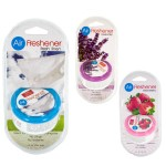 Gel Air Freshener with Vented Lid