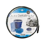 Car Wash Kit with Collapsible Bucket