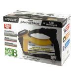 Rally Auto Air Compressor & LED Worklight