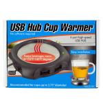 4 Port USB Hub Cup Warmer