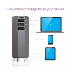 Zolt 70W Portable Laptop AC Charger Plus Kit with 8 Power Tips