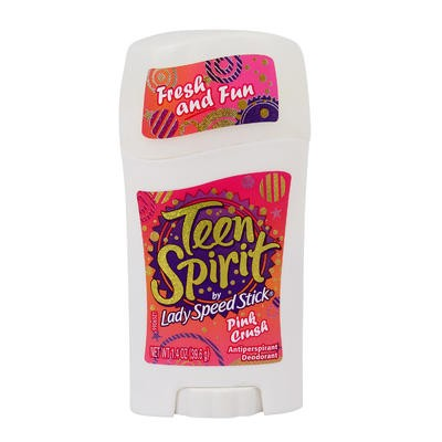Women's Teen Spirit Pink Crush Deodorant - 1.4oz.