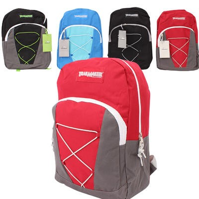 Trailmaker Backpack w/Front Drawstring - Asst  17