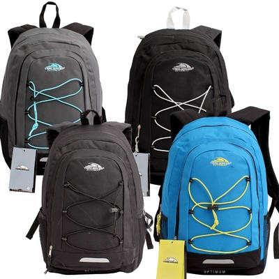 Trailmaker Backpack with Bungee Cord Pocket - Asst