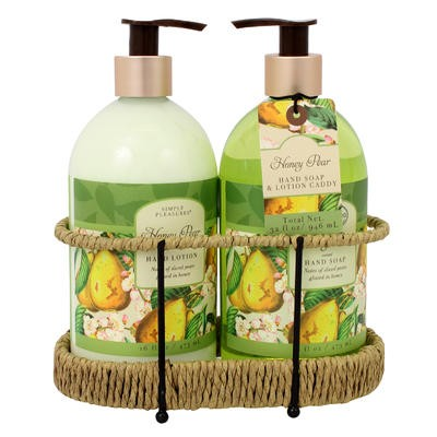 Hand Soap and Lotion Gift Set - Honey Pear