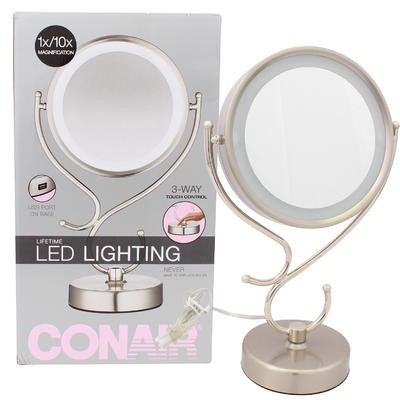 Conair 1x/10x Magnifying USB Mirror