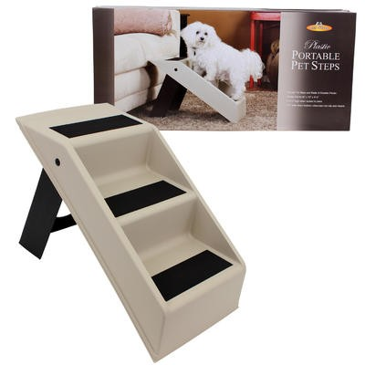 PET STEPS PORTABLE WHT/BLK PLS