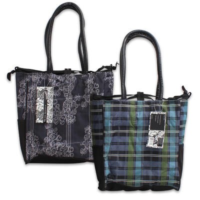 Tote Bag with Draw String - Assorted  13.5