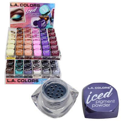 Eye Iced Pigment Powder Display - Asst
