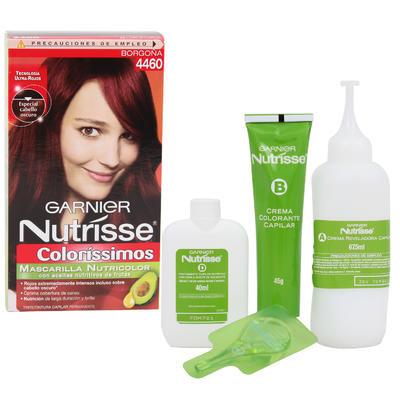 Garnier Nutrisse Burgundy Hair Color