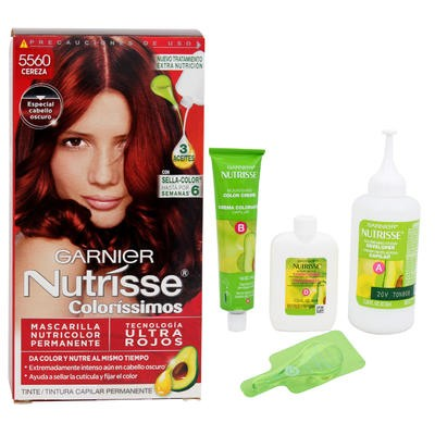 Garnier Nutrissee Colorissimos Cherry Hair Color