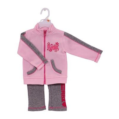 RBX Infant Girls' 2pc Pink Pant Set - Asst