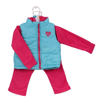 RBX Infant Girls' Pant and Jacket Set -Turq.  Asst