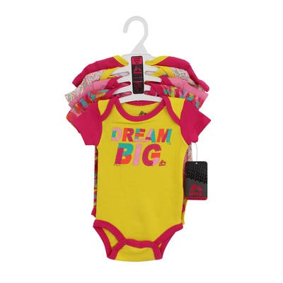 BODYSUIT 5pc DREAM BIG FUCHSIA