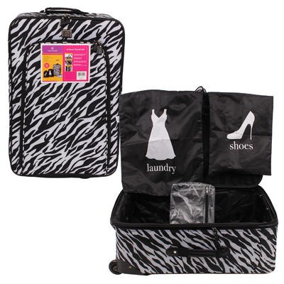 Protege Zebra 4-piece Travel Set