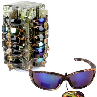 SUNGLASSES CAMO SPINNER ASST