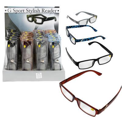 READING GLASSES G-SPORTS ASST