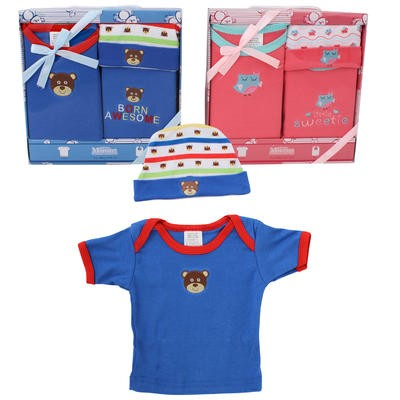 Little Mimos 3-piece Baby Gift Set - Asst
