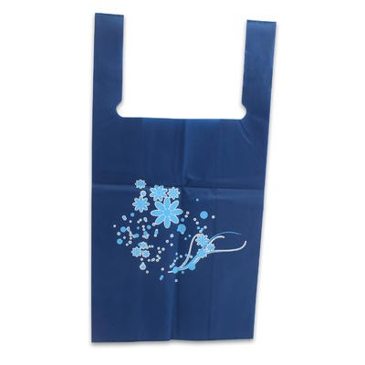 Shopping Bag with Flower Print - 30