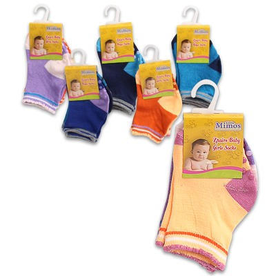Little Mimos Baby Socks 2-pack - Assorted