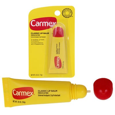 Carmex Medicated Lip Balm - 0.35oz