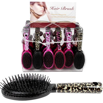 HAIR BRUSH FASHION 3AST CLRS