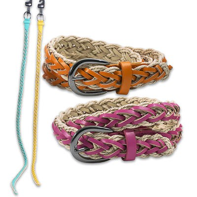 Rue 21 Women's Braided Belt - Assorted