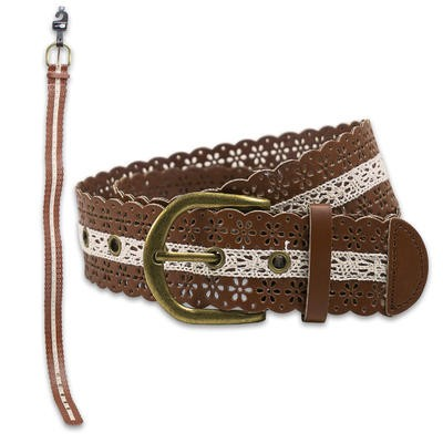 Rue 21 Braided Women's Belt - Asst  Brown