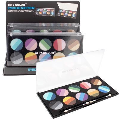 City Color 30-pan Eye Shadow Display - Asst