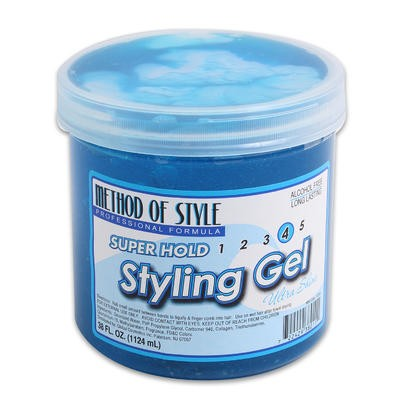 Method of Style Super Hold Styling Gel - 38oz