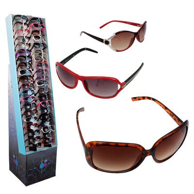 Fashion Sunglasses for Ladies Display - Asst