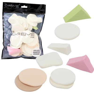 The Creme Shop Cosmetic Sponge in Bag