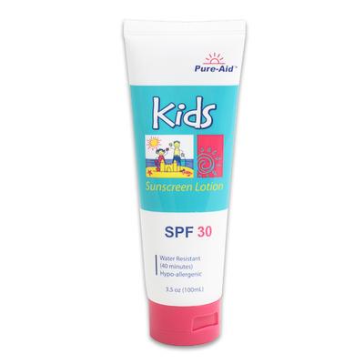 Pure-Aid Kids' Sunscreen - SPF 30  3.5oz