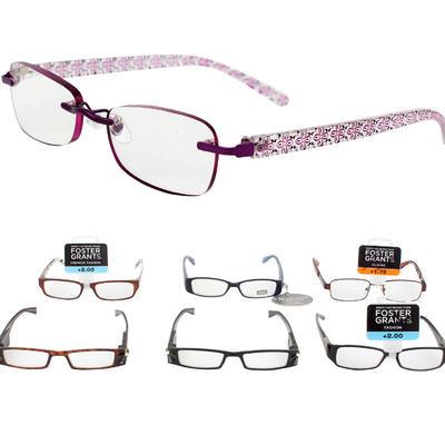 Foster Grant Strong Grade Reading Glasses - Asst