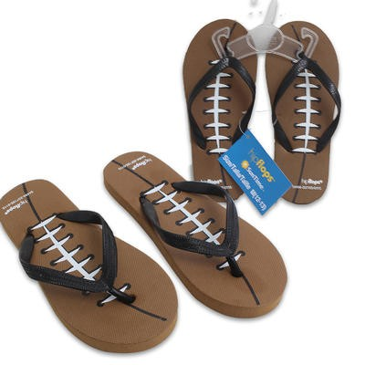 Boys' Football Flip Flops - Assorted sizes