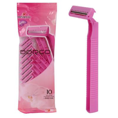 Dorco Women's Pink 10pk Twin Blade Razor