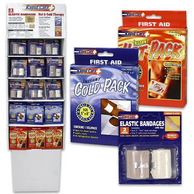 Rapid Care First Aid Display - Assorted
