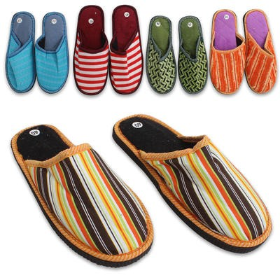 Ladie's Color Slippers - Assorted