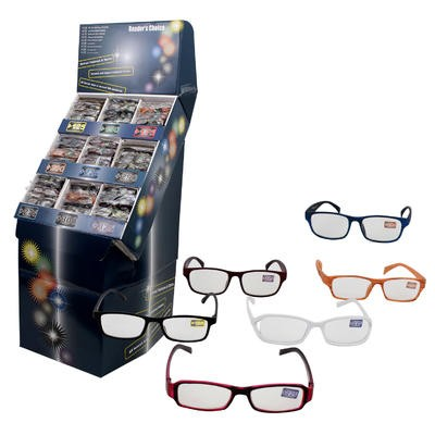 Reading Glasses with Plastic Frames Display - Asst