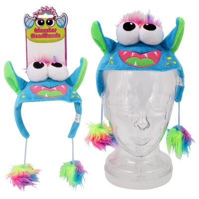 KellyToy Monster Headband - Blue/Green  6