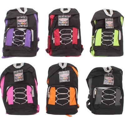ProSport Backpack with Drawstring Pocket-Asst  17