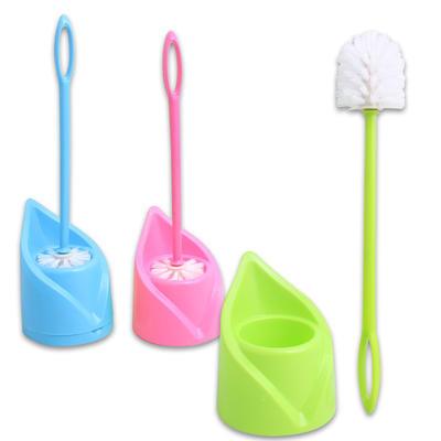 Toilet Brush with V-Shape Holder - Asst