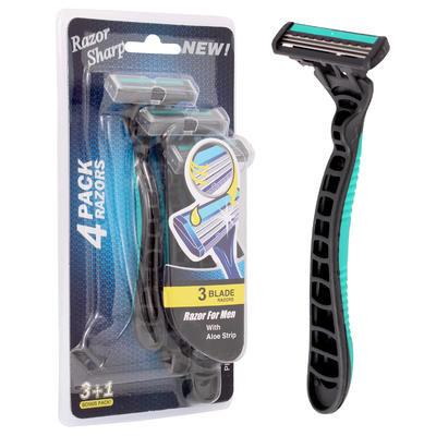 Men's 3-Blade Razor 4-pack