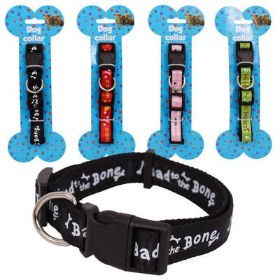 Dog Collar with Print - Asst