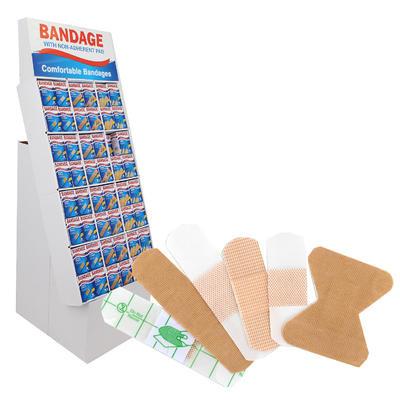 Bandage w/ Non-Stick Pad in Display - 12 Astd.