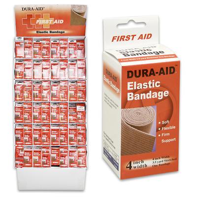 Dura-Aid Elastic Bandage Display - Asst